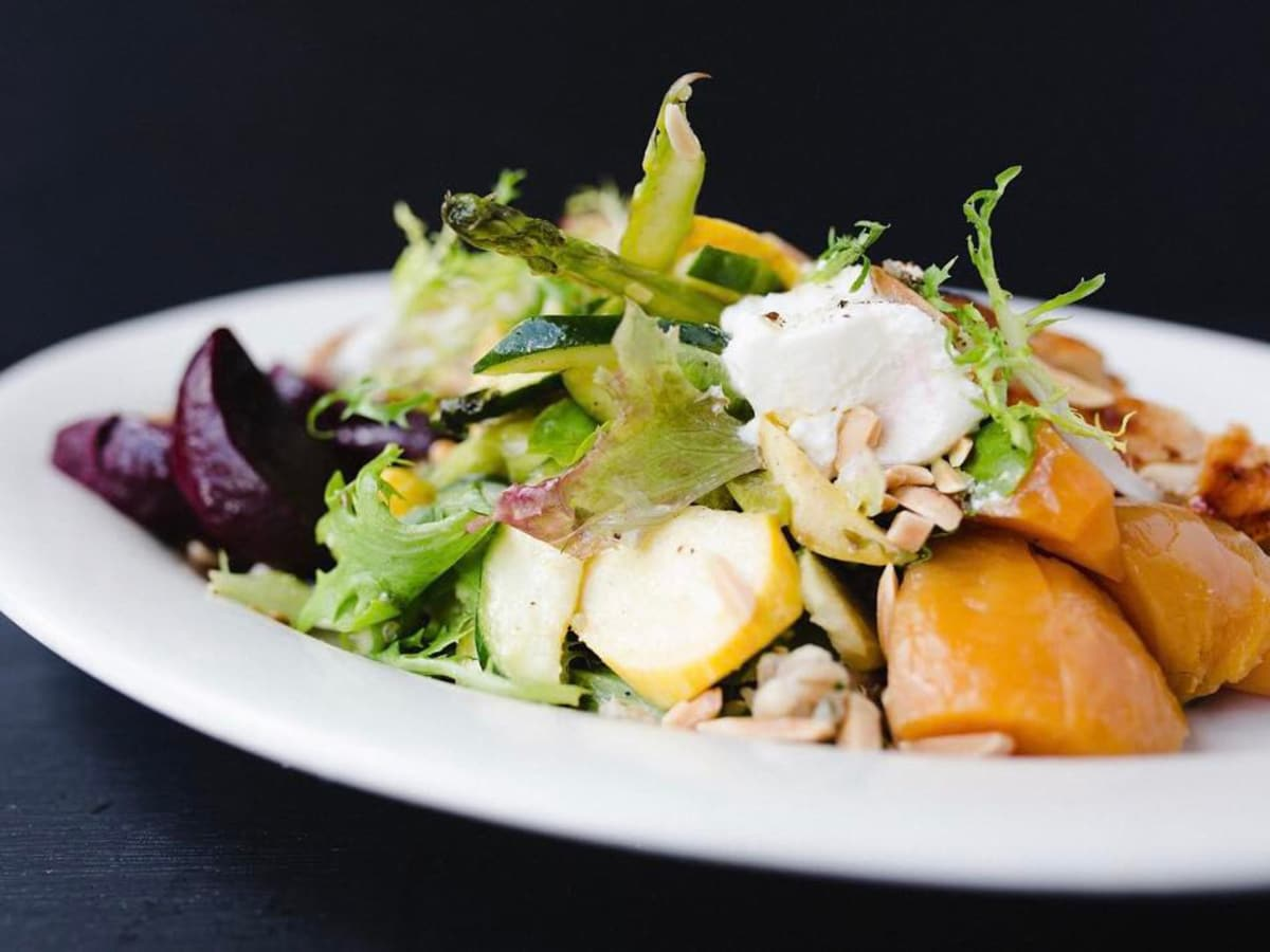 Grayze restaurant salad