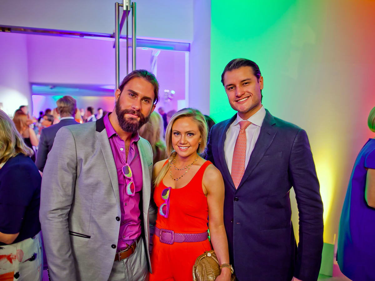 Houston, Blaffer Art Museum Color Splash Gala, April 2017, Cabe Nowlen, Sara Starry, Victor Mendoza