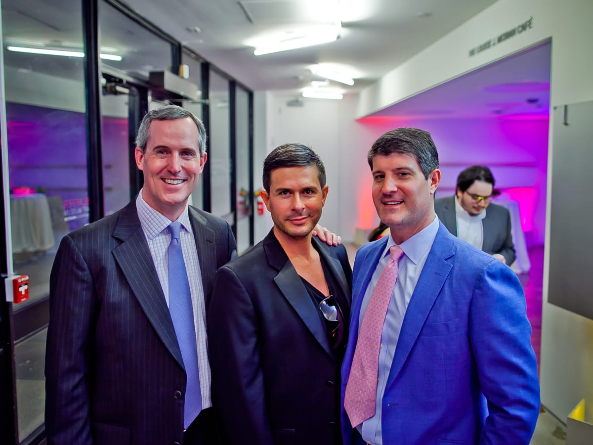 Houston, Blaffer Art Museum Color Splash Gala, April 2017, James Jennings, Haten Martin, Hank Stout