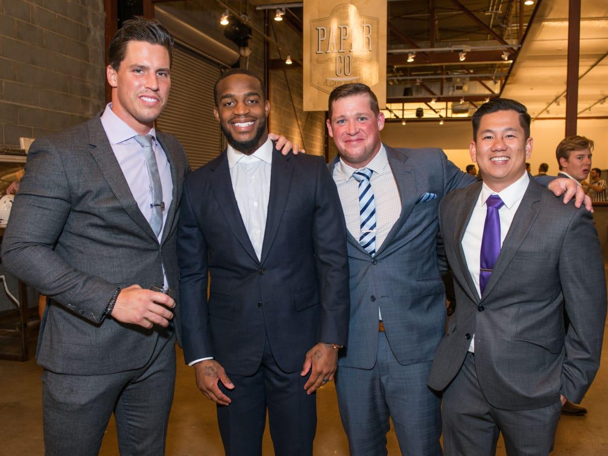 Houston, Game Day Gala, April 2017, Brian Cushing, Kareem Jackson, Jon Weeks, Dr. Casey Ho