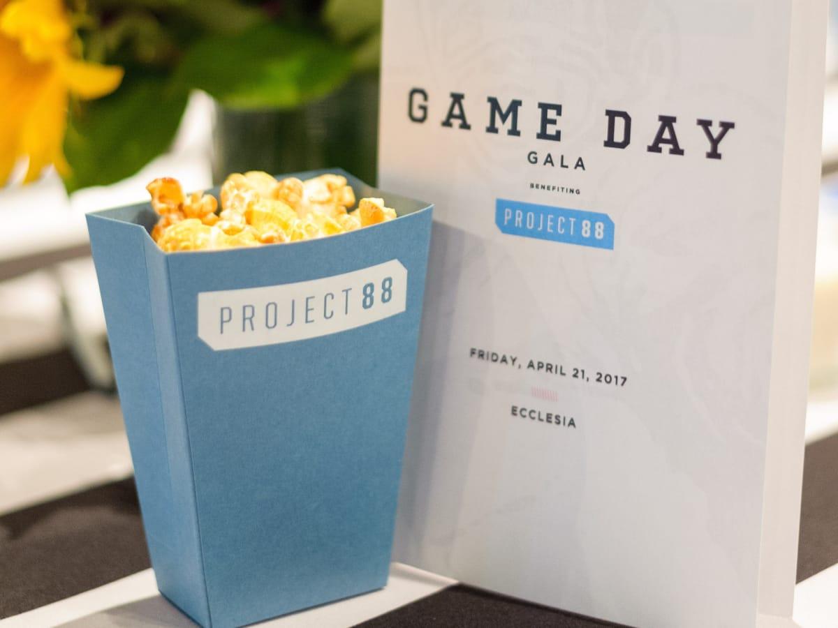 Houston, Game Day Gala, April 2017, food