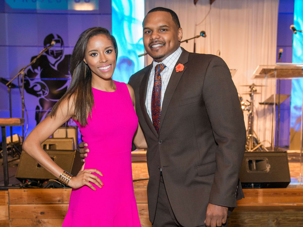 Houston, Game Day Gala, April 2017, Melissa Knowles, Chester Pitts