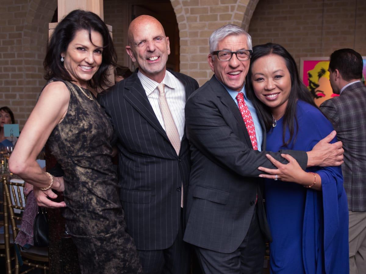 Jessica Rossman, Clifford Pugh, Miya Shay, John Dascoulias at Recipe for Success dinner