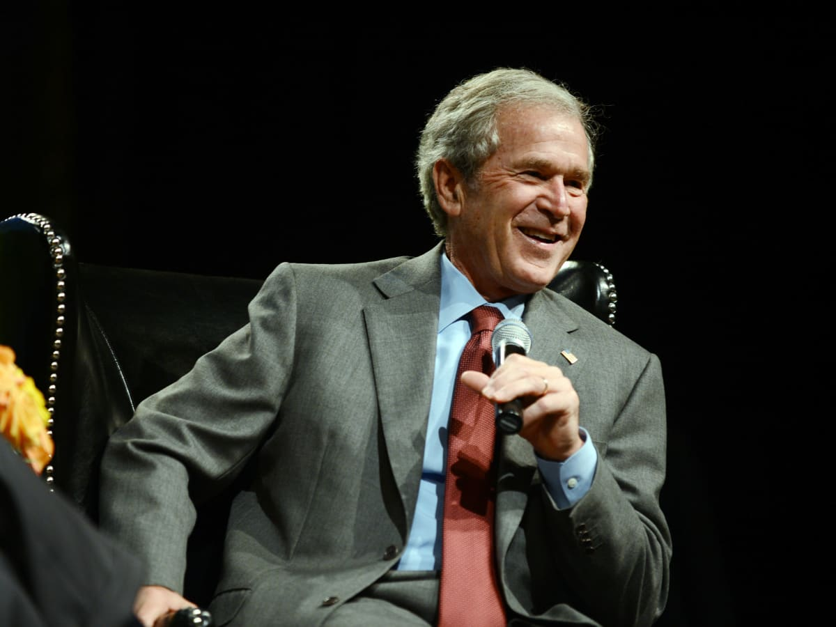 George W. Bush at Living Legend Luncheon