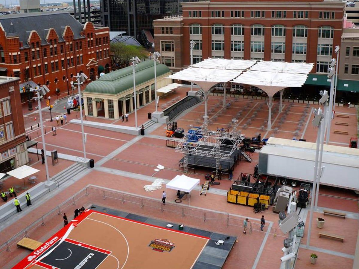 ESPN College Gameday in Sundance Square Plaza