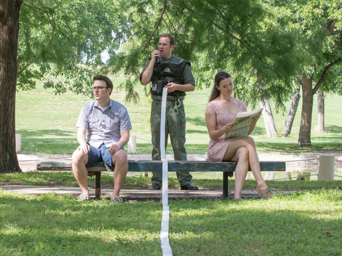 Amphibian Stage Productions presents Crossing the Line