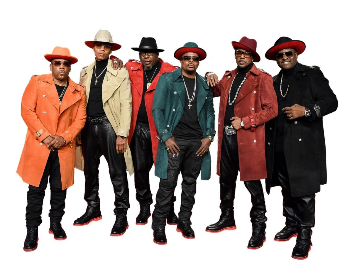 New Edition in concert