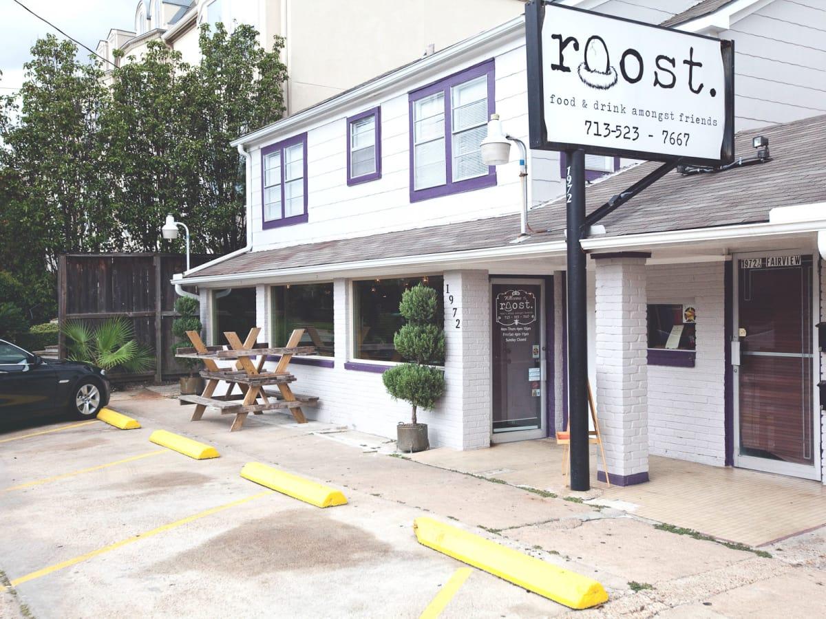 Roost Restaurant Houston, exterior