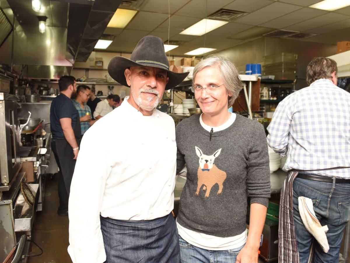 Urban Harvest dinner Ara Malekian and Monica Pope
