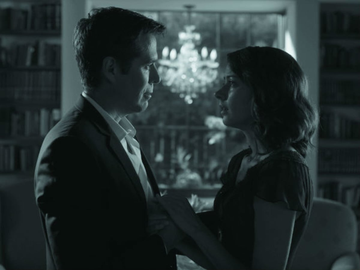 Alexis Denisof and Amy Acker in Much Ado About Nothing