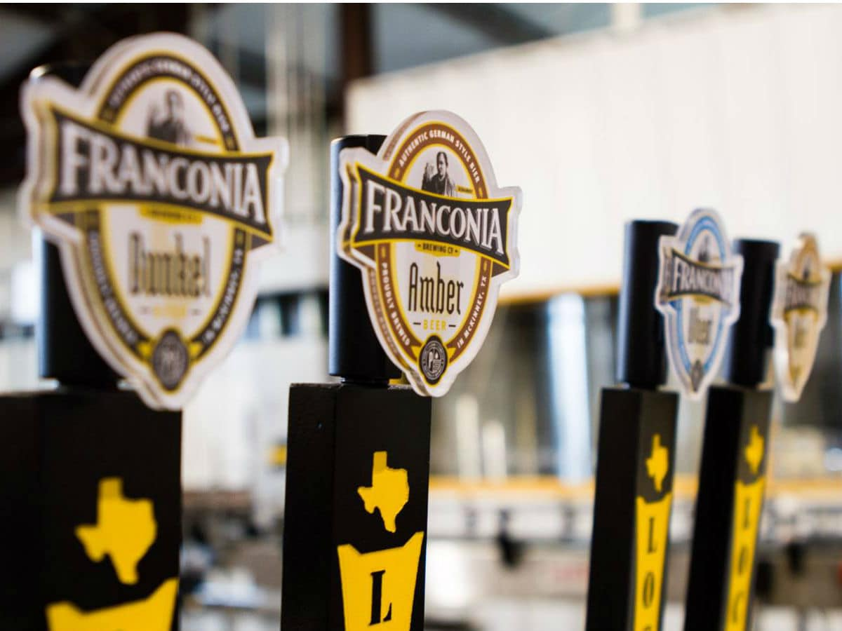 Franconia Brewing Co., McKinney, Texas