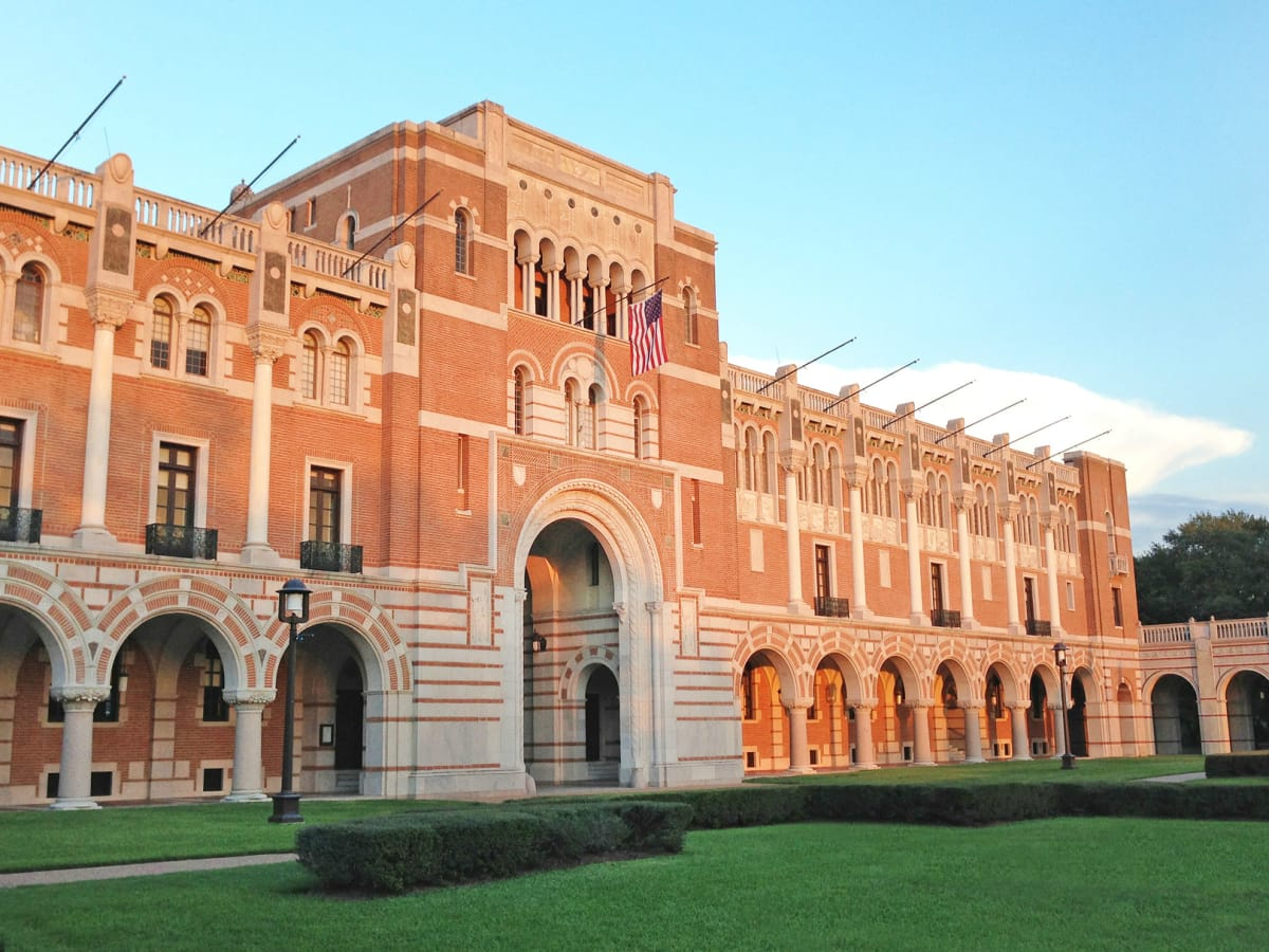 Beautiful Preservation Houston Walking Tour: Rice University Architecture