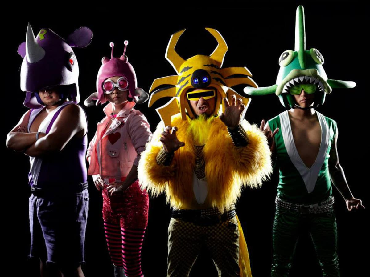Japanese punk band Peelander-Z