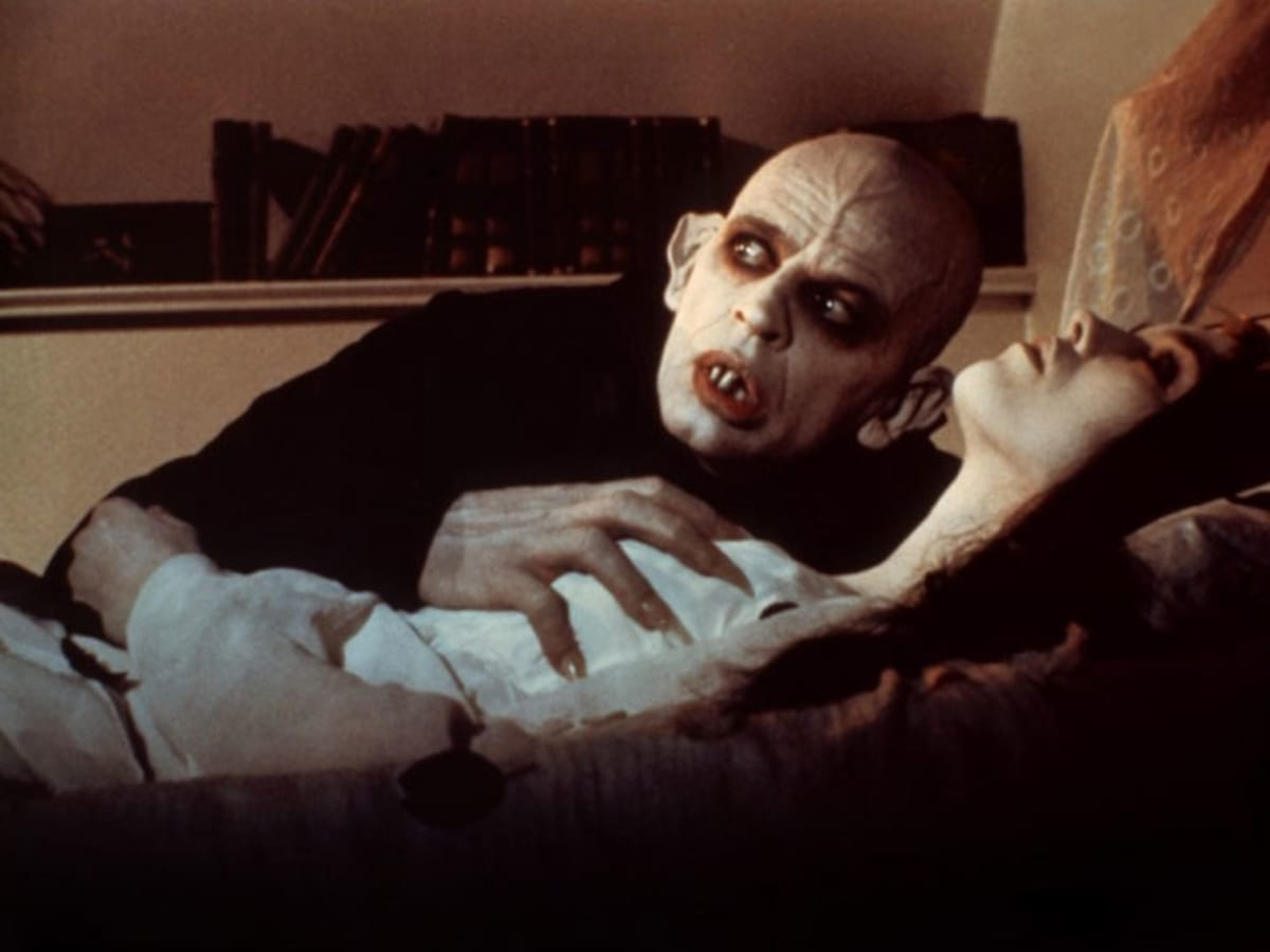 still from Werner Herzog's film Nosferatu the Vampyre