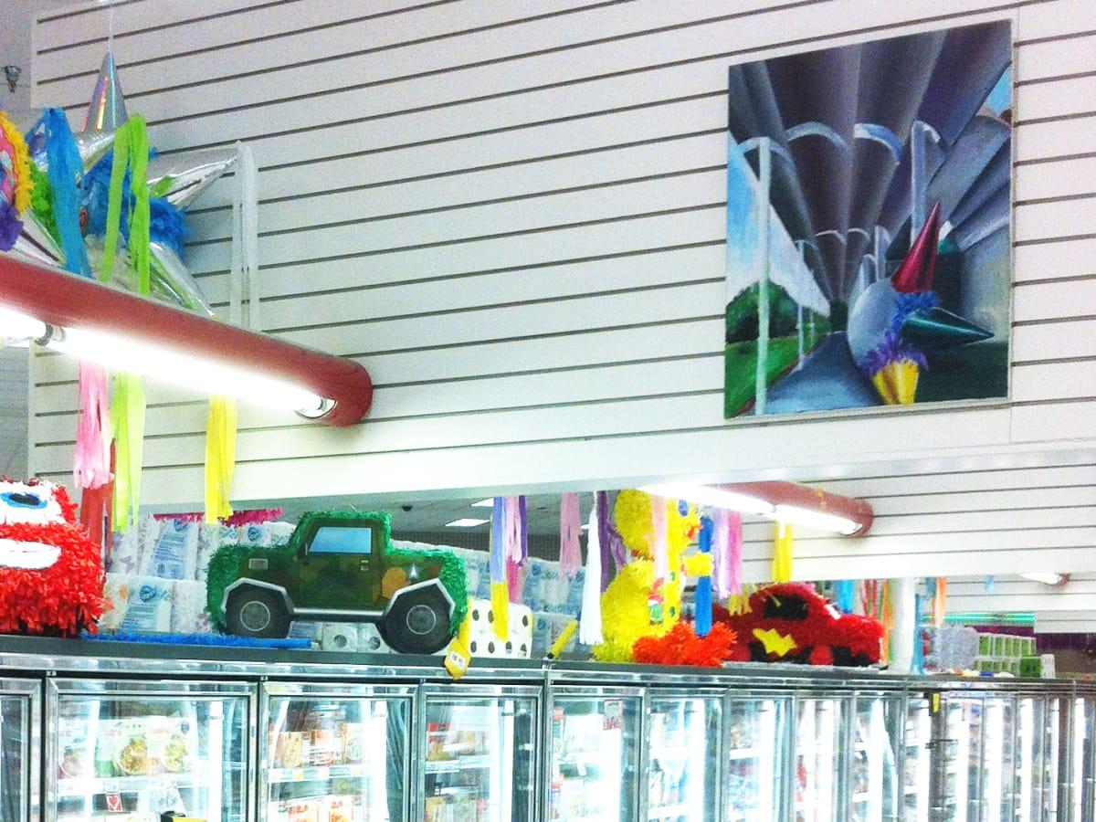 1 UH School of Art hijacks Kirby super-Fiesta for new painting exhibit