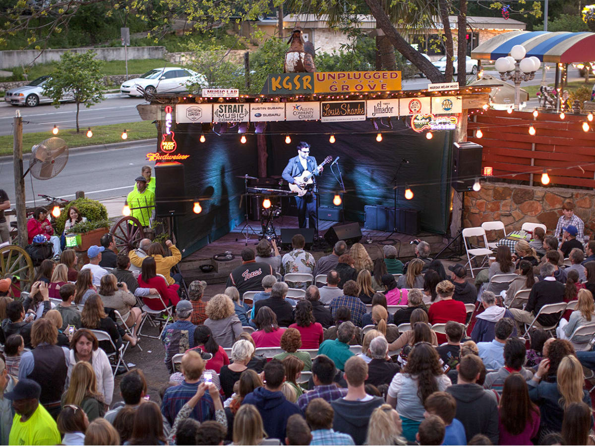 KGSR's Unplugged at the Grove at Shady Grove