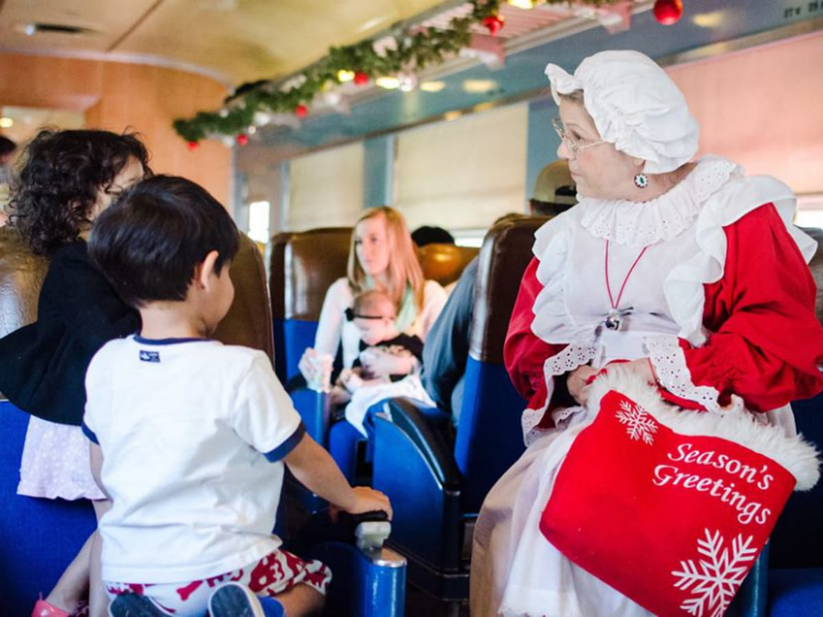 Austin Steam Train Association - North Pole Flyer - Mrs. Claus