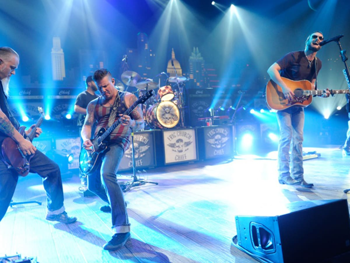 Eric Church Austin City Limits Debut Performance