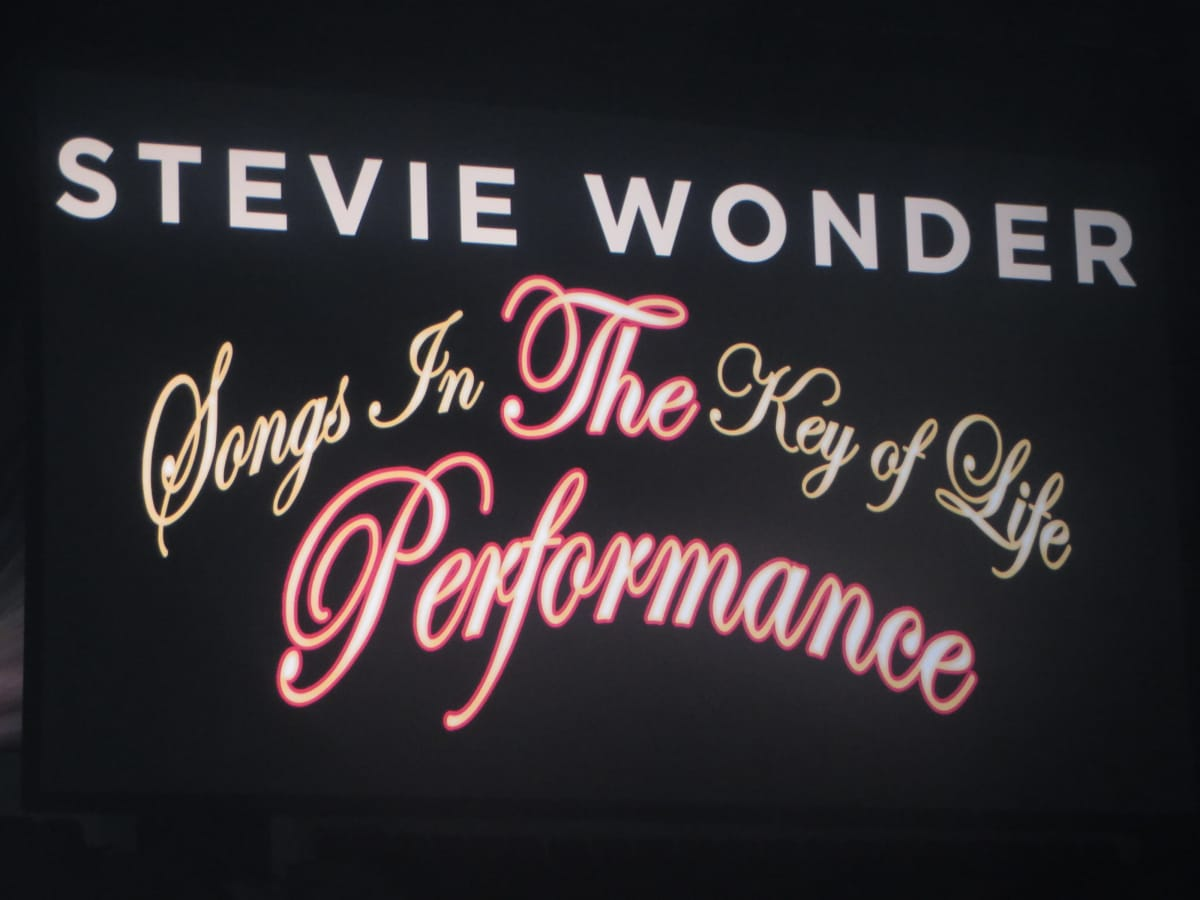 Stevie Wonder Songs in the Key of Life concert