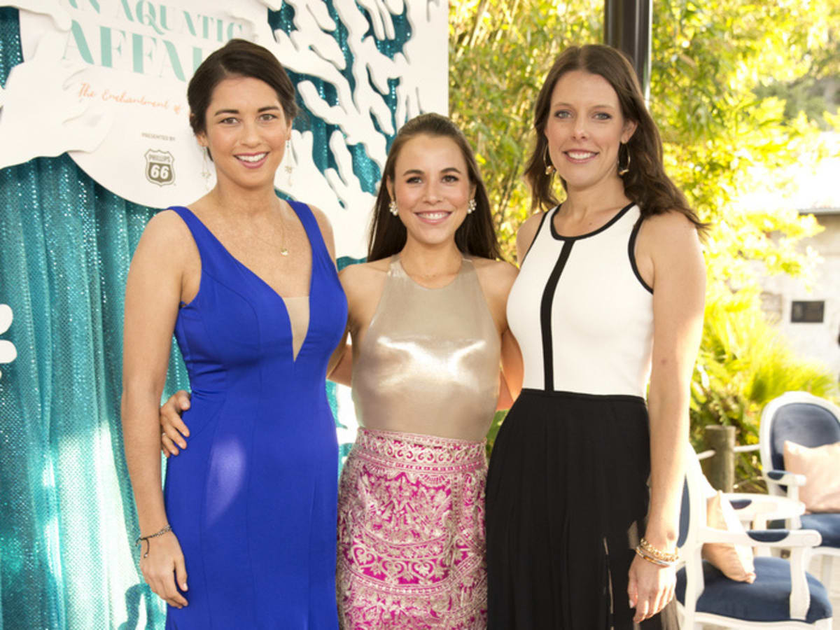 Houston, Zoo Ball Aquatic Affair, April 2017, Jacqueline Goldberg, Margaret Davis, Laura Donnelly