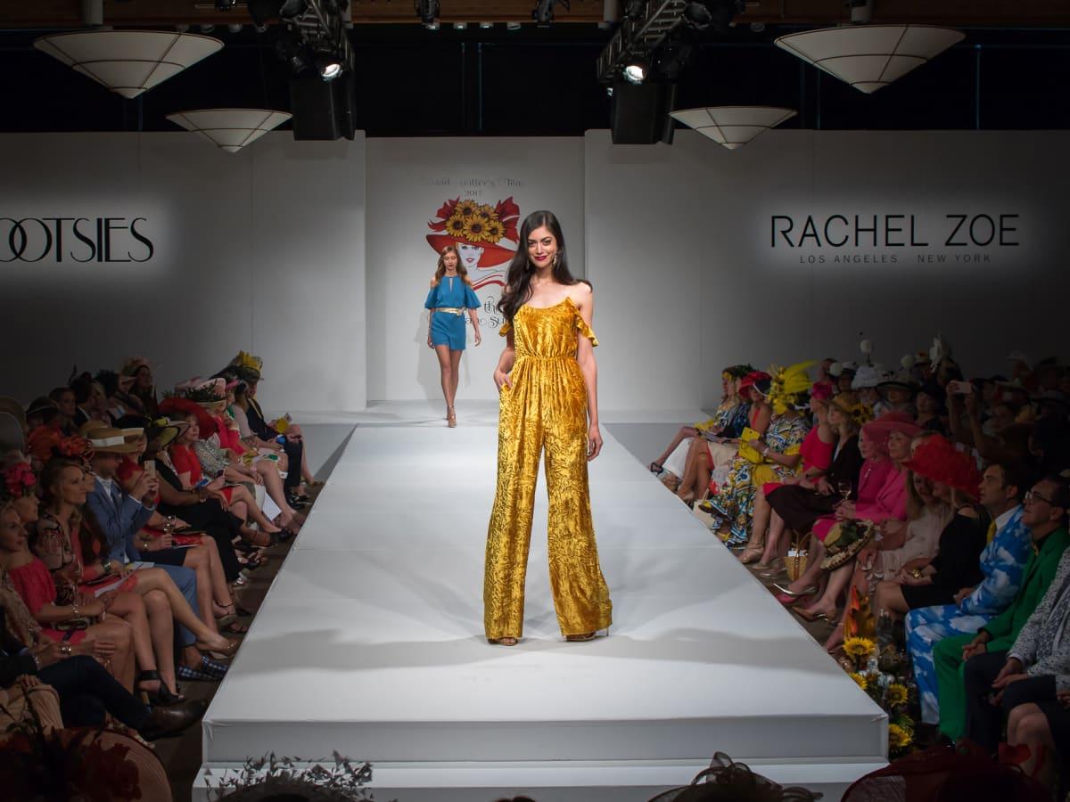 Rachel  Zoe fashion show