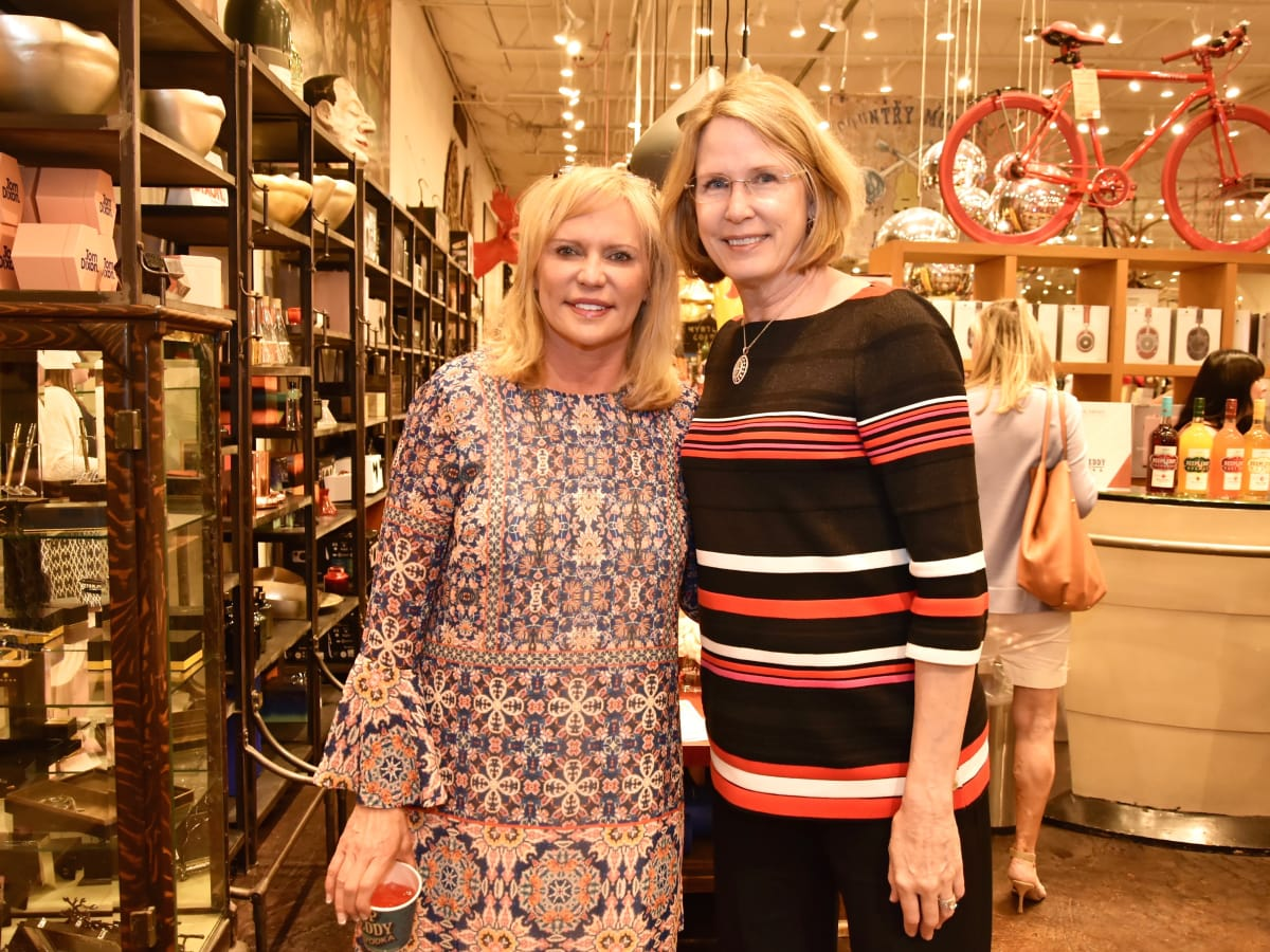 Keri Black, Vicki Crum at Shop With Heart Card Kickoff