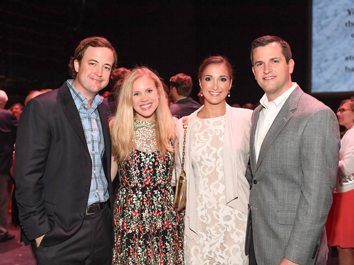Houston, Casa de Esperanza Building Hope for Children Gala, April 2017, Cameron Colvill, Sarah Colvill, Alex Saxe, Connor Saxe