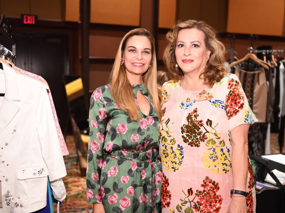 Latin Women's Initiative Luncheon, Micheline Newall, Mercedes Braun