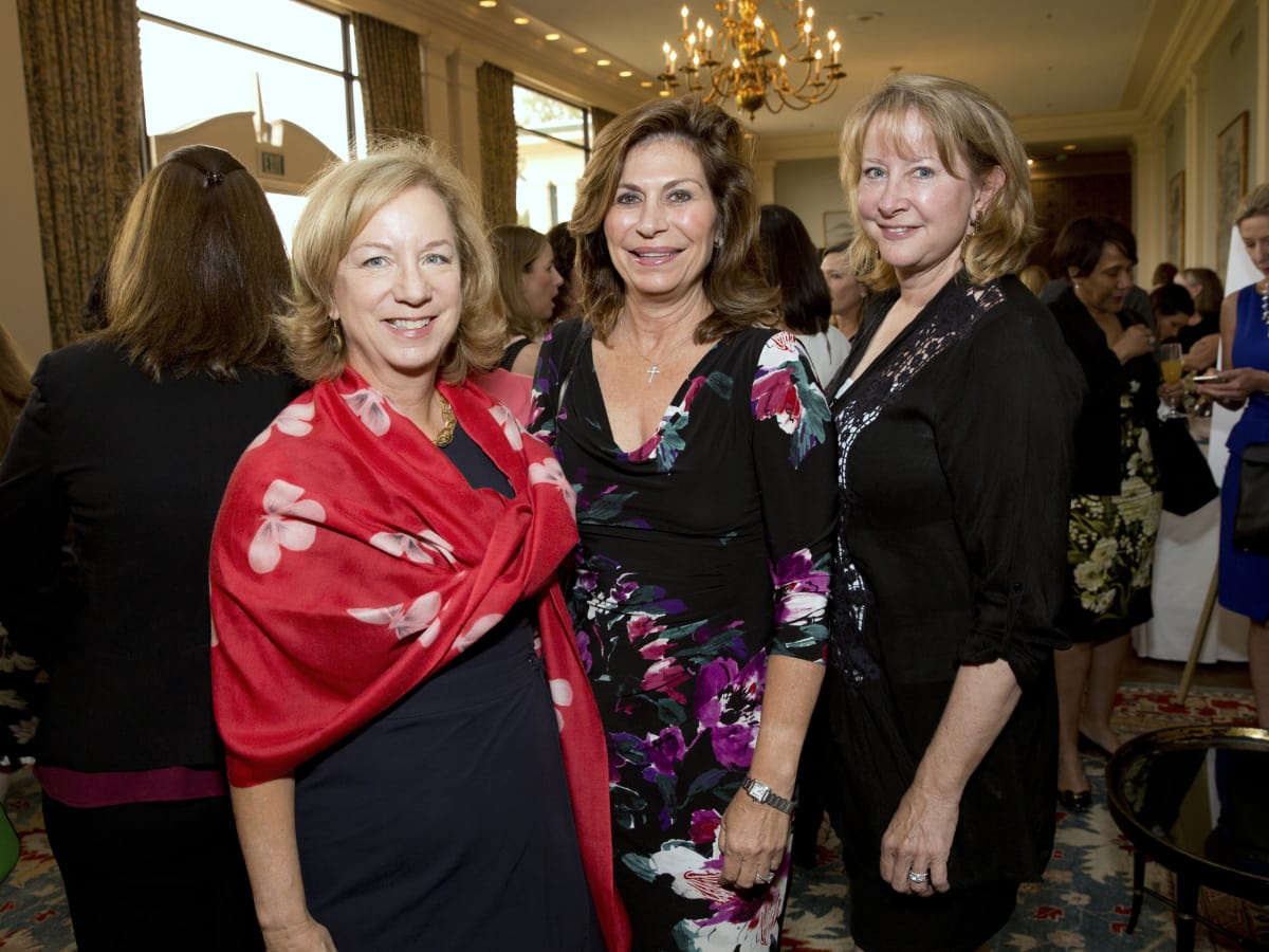 Houston, Spaulding for Children luncheon, May 2017, Nancy Pustka, Cathy Brock, Evelyn Fasnacht