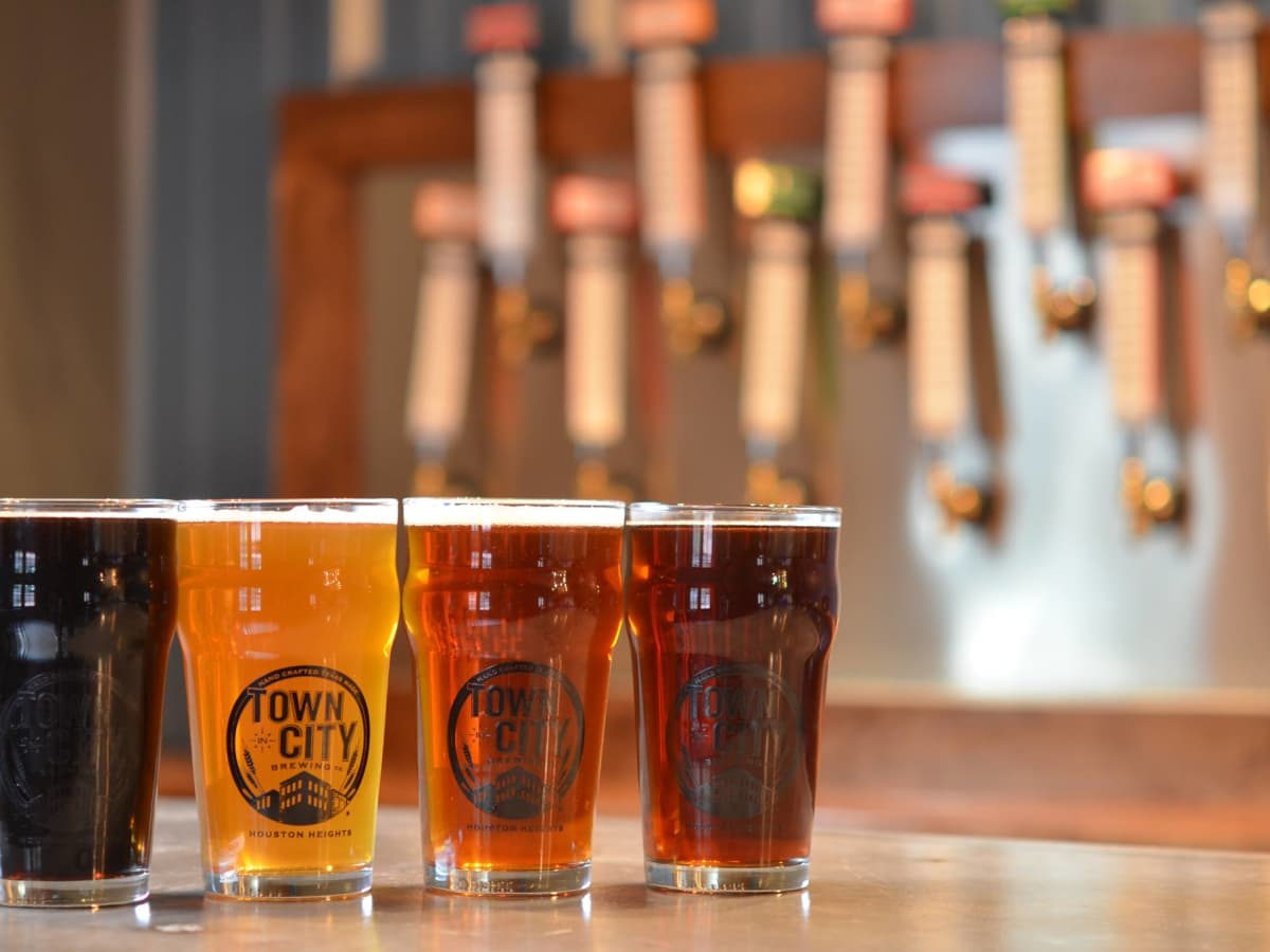 Town in City Brewing beers