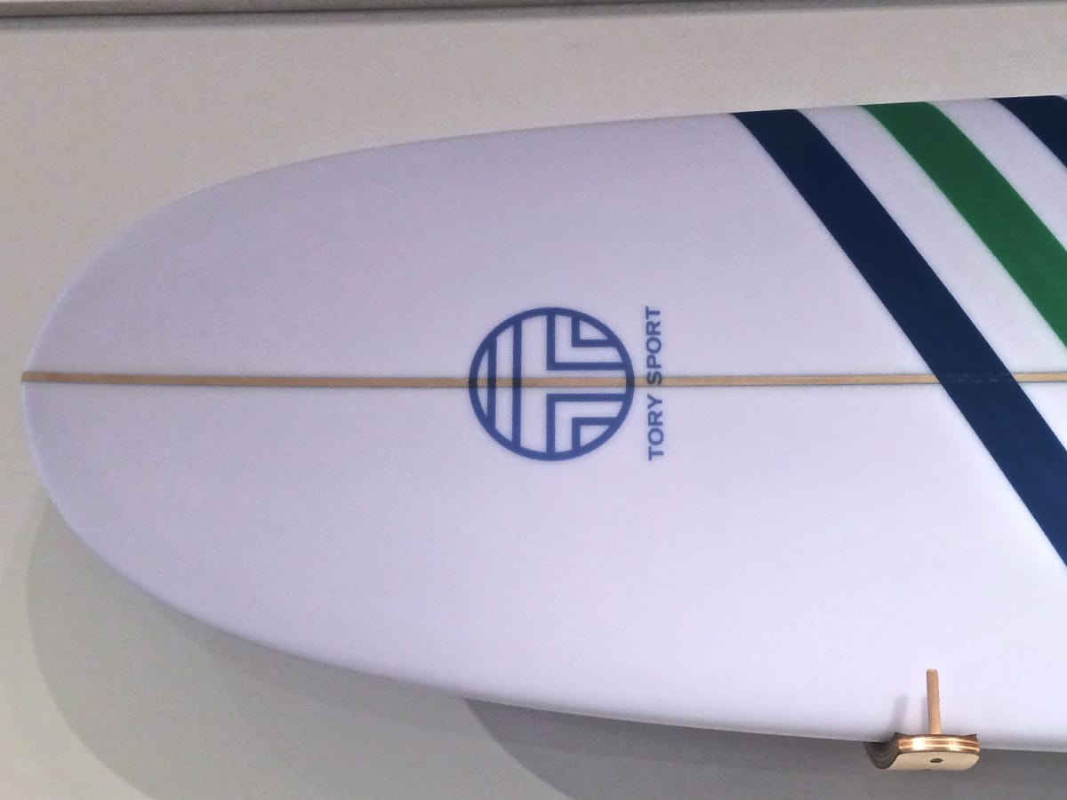 Tory Burch Sport 2015 surfboard