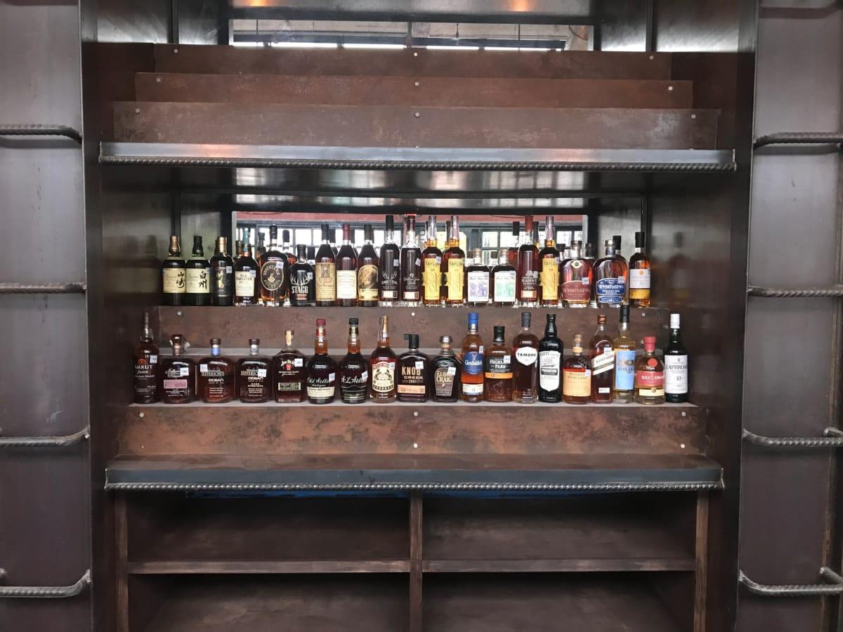 Heights Bier Garten Worcester's Annex whiskey