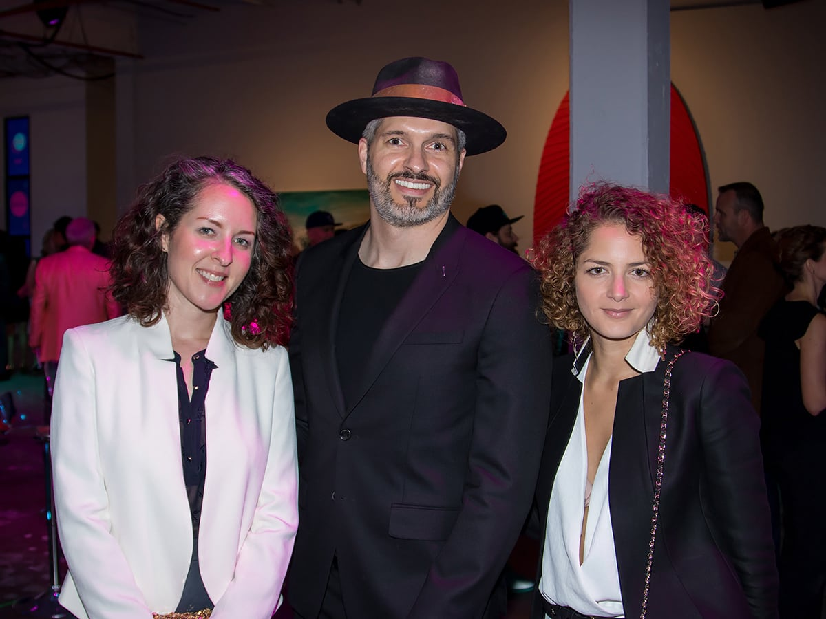 Elizabeth James, Matthew Brooker, Danielle Cardoso Maia