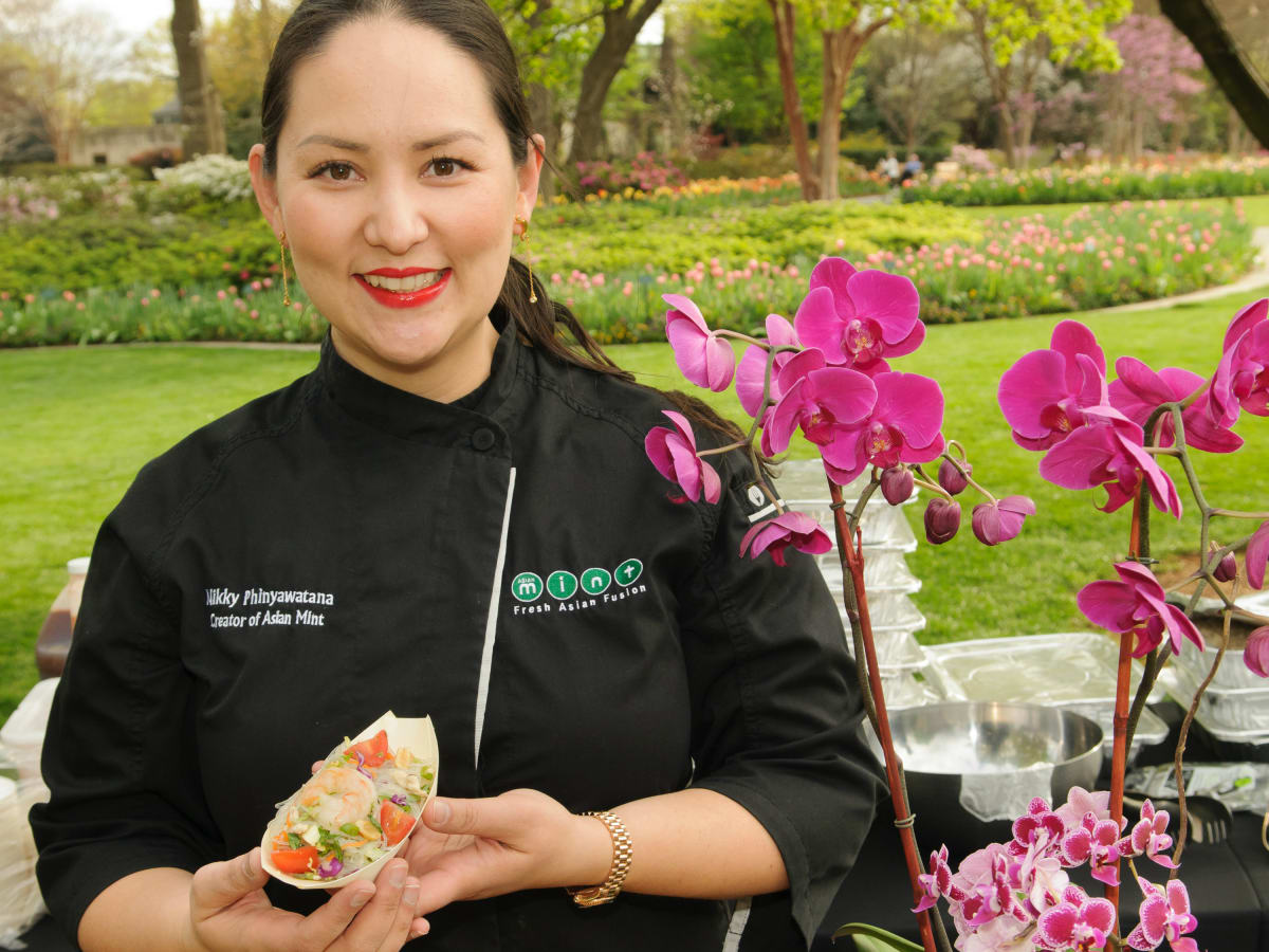 Chef Nikky Phinyawatana of Asian Mint