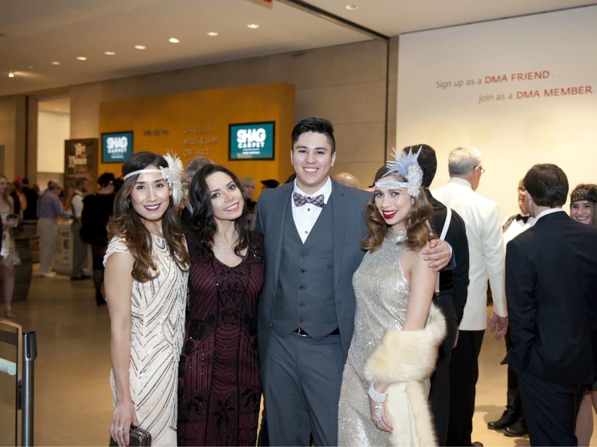 Jessica Hernandez, Annete Guzman, Christopher Dagda, April Bouloy