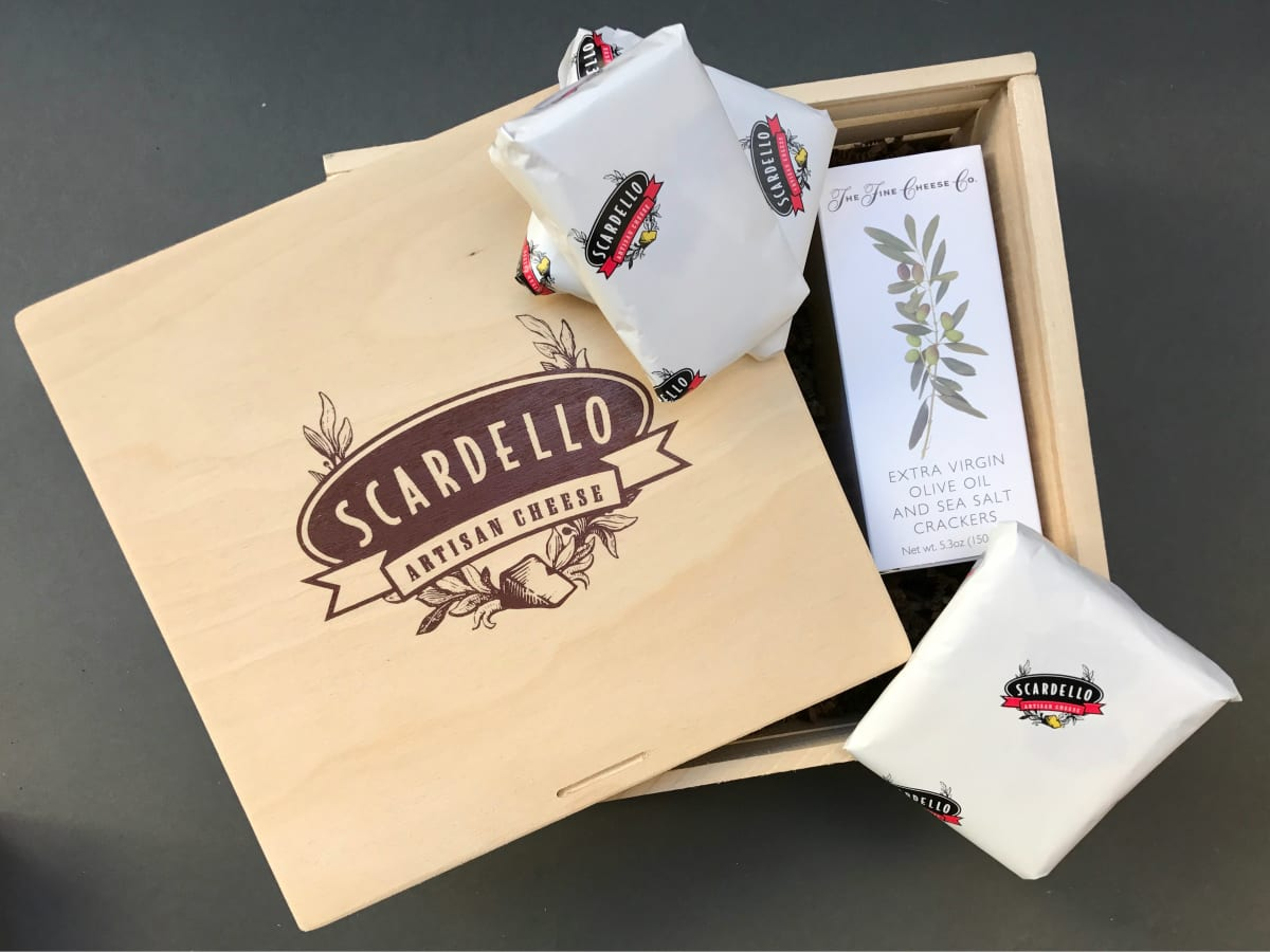 Scardello cheese gift box