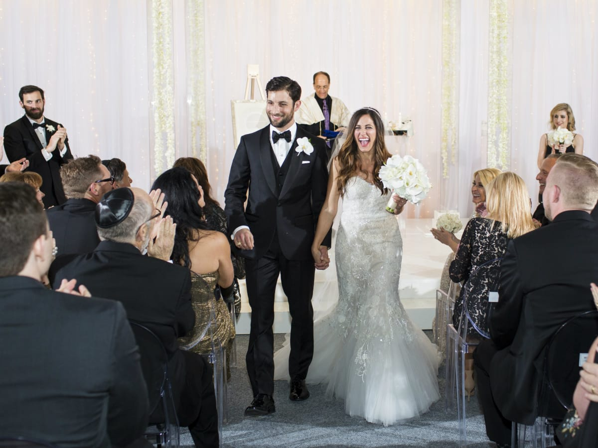 Jessica and Logan Sherman, Real Weddings feature