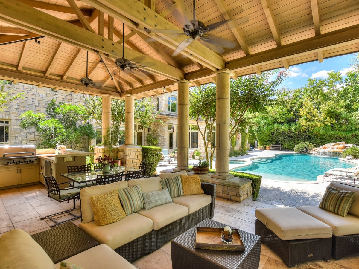 1430 Rockcliff Rd Austin house for sale cabana