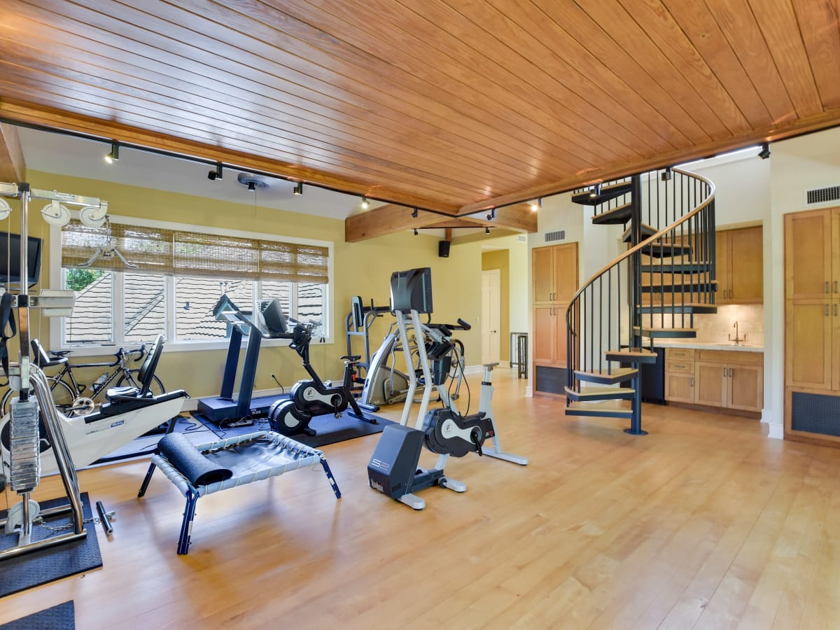 1430 Rockcliff Rd Austin house for sale gym