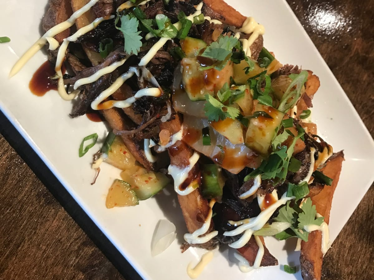 Nao Ramen french fries poutine