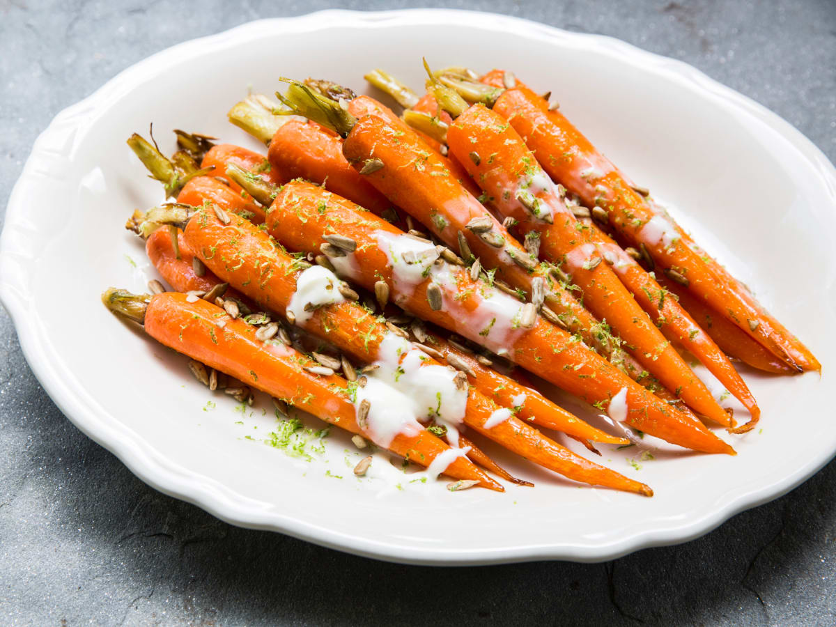 Relish restaurant glazed carrots