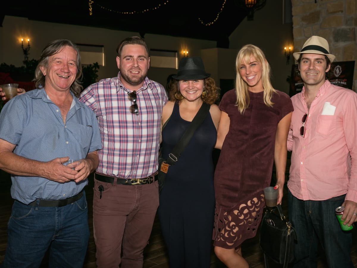 Butchers Ball Mike Newman, Eoghan Dillman, Claudia Solis, Lindsey George, Matthew Wettergreen