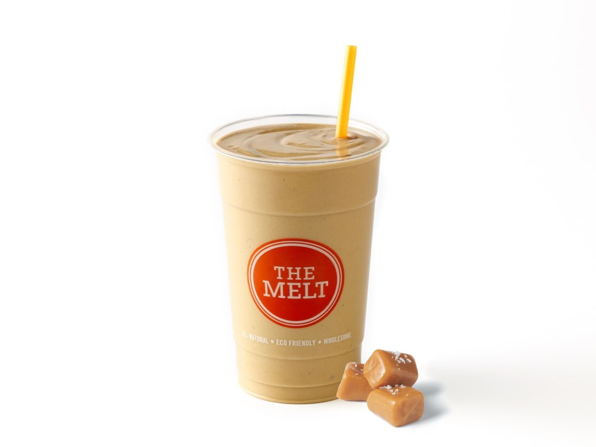The Melt salted caramel milkshake