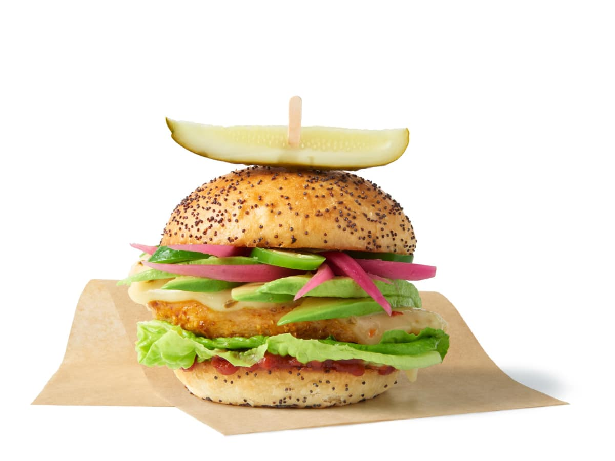 The Melt chicken sandwich