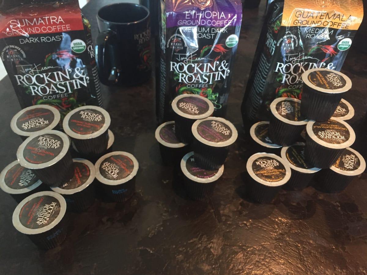 Joey Kramer Rockin Roastin coffee K-cups
