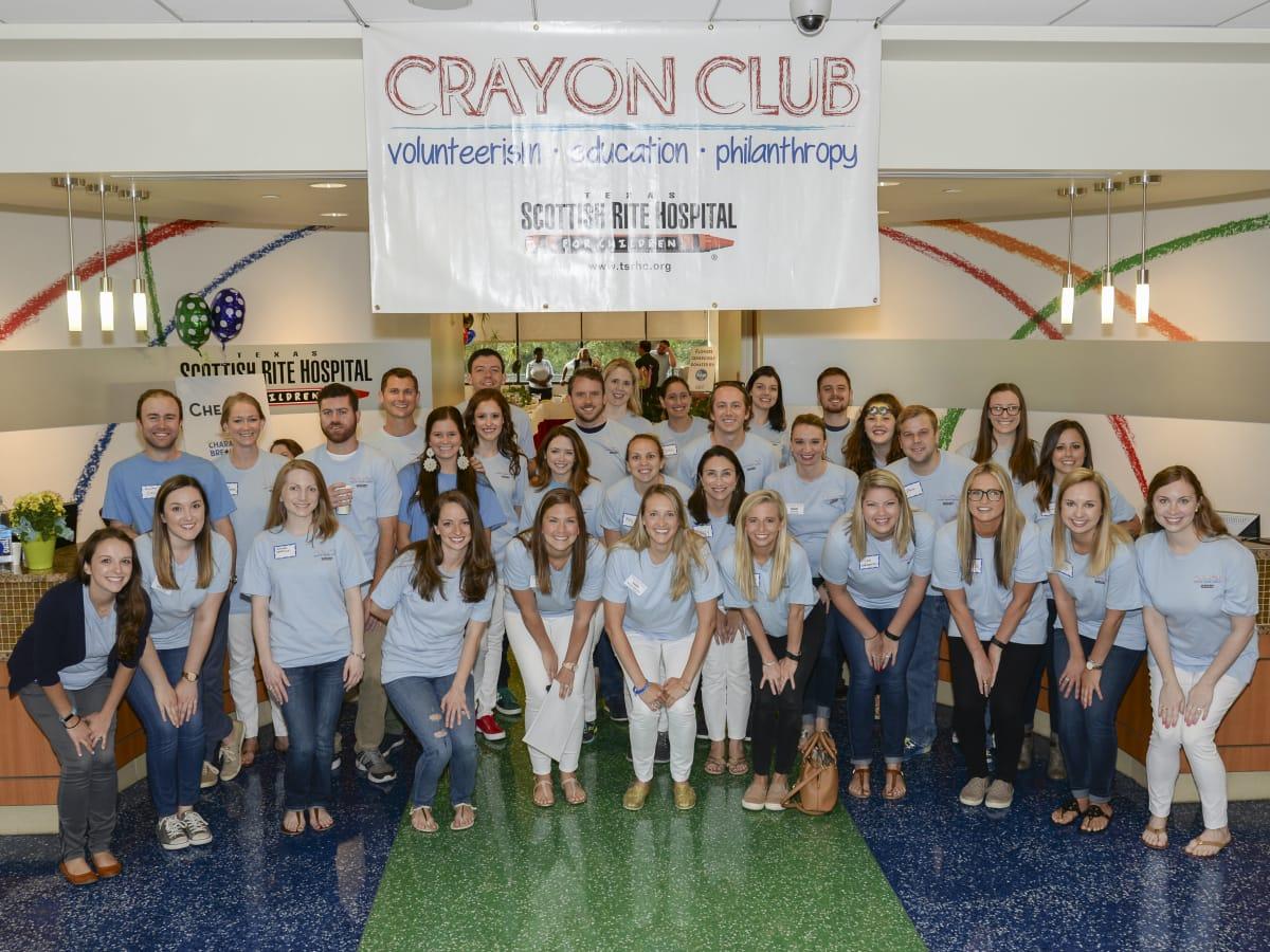 Texas Scottish Rite Crayon Club