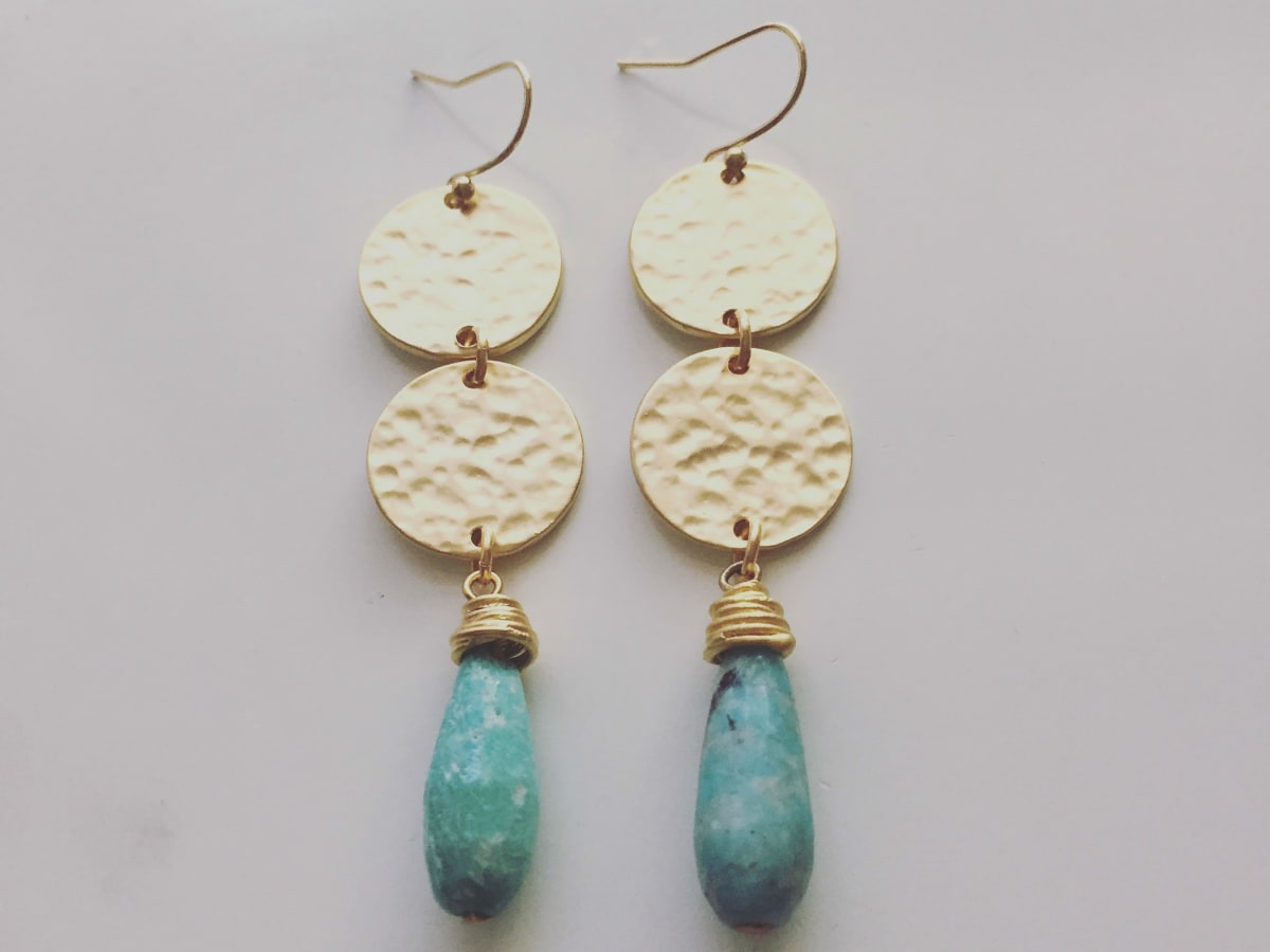 Stitch and Stone Earrings Designer