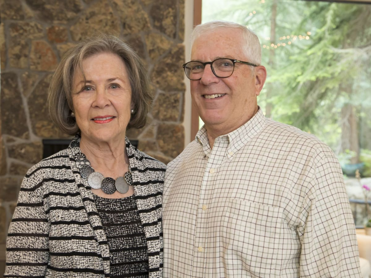 Houston PBS in Aspen, June 2016, Kathryn Rabinow, Richard Rabinow