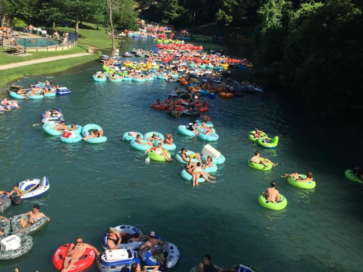 Tubing float Comal River New Braunfels Comal Tubes