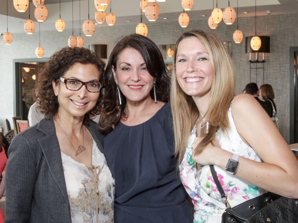 Ellevate Network breakfast 6/16 Shushana Castle, Miri Wilkins, Jaclyn Boutwell